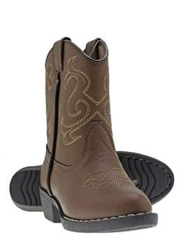 Kids Lil Cowboy Pointed Toe Classic Western Rodeo Boots
