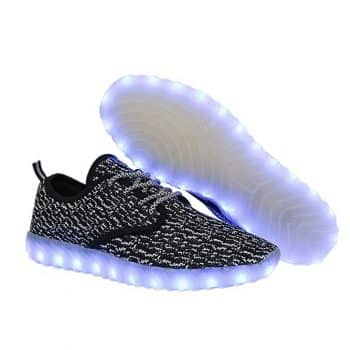 UNN Led Light Up Shoes for Men Women and Kids USB Charging Flashing Luminous Glowing Sneakers