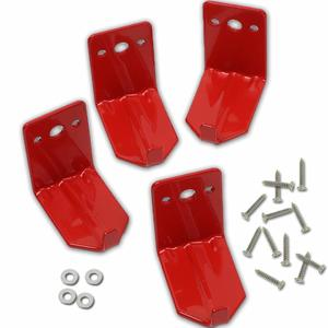 2. 4 Pack of Fire Extinguisher Mount