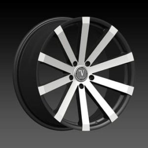 "22"" Velocity Vw12 Wheels 22x9 Offset:13 Machine Black Rims Sale 5x120(4pieces)"