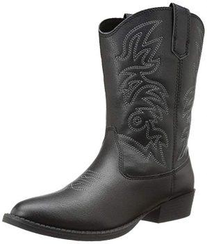 kids' Workhog Wide Square Toe Western Boot