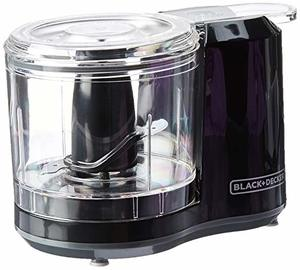 3. BLACK+DECKER 1.5-Cup Electric Food Chopper