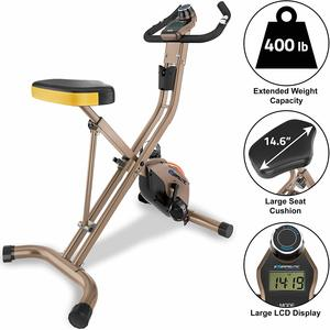 3. Exerpeutic GOLD 500 XLS Foldable Upright Bike
