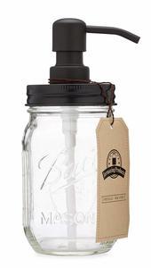 3. Jarmazing Products Mason Jar Soap Dispenser