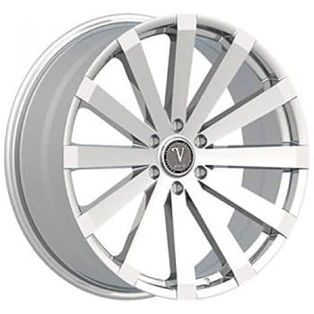 "22"" Velocity VW12 Wheels 22x9 Offset:30 Chrome Rims Sale 6x135(4pieces)"