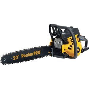4. Poulan Pro PP5020AV Gas Powered Chain Saw