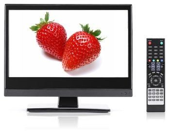 4. Small Flat Screen 13.3 inch LED TV