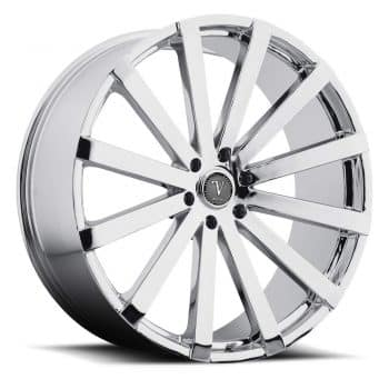 SET OF (4) 22'' VELOCITY WHEELS VW12 22X9 6X139.7 +30 OFFSET\