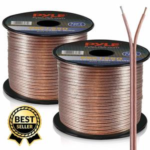 5. 50ft 12 Gauge Speaker Wire - for Connecting Audio Stereo to Amplifier