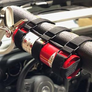 5. Adjustable Roll Bar Fire Extinguisher Holder for Jeeps