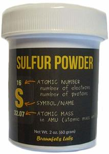 5. Braunfels Labs Sulfur Powder - 2 Oz