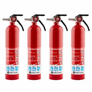 5. First Alert Home Fire Extinguisher - 4-Pk
