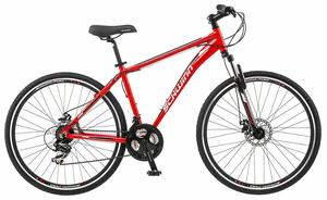 5. GTX Comfort Schwinn Hybrid Bike Hybrid Bike Line with Front Suspension