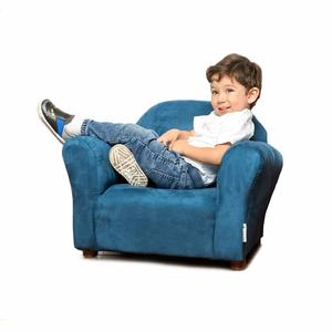 5. Keet Roundy Microsuede Children's Chair