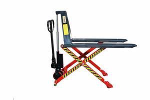 5. Pake Handling Tools - Manual High Lift Pallet Jack, 3300lbs Capacity