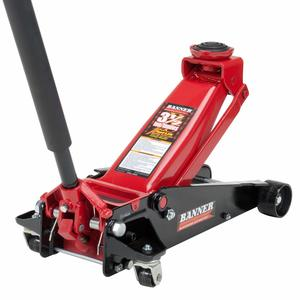 6. Blackhawk B6350 Black Red Fast Lift Service Jack
