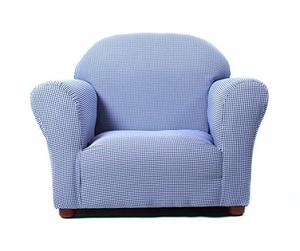 6. Keet Roundy Kid's Chair Gingham