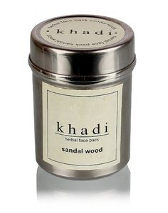 6. Pure Sandalwood powder Face Pack by Khadi -50g