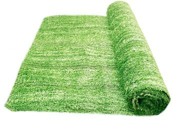 "Artificial Grass Area Rug – Grass Height: 0.4"" - Size: 4-feet x 6-feet"