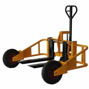8. Black Bull PTRUCK Yellow All Terrain Pallet Truck