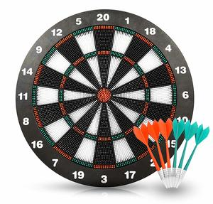 9. ActionDart Soft Tip Darts and Dartboard Set