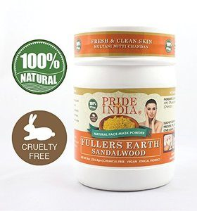 9. Pride Of India - Fuller's Earth Deep Cleansing Healing Face Mask Powder