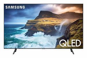 9. Samsung QN75Q70RAFXZA QLED 4K Q70 Smart TV