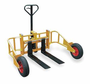 9. Specialty All Terrain Manual Pallet Jack
