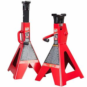 9. Torin Big Red Steel Jack Stands 6 Ton Capacity