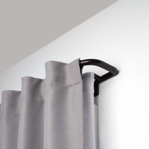 Umbra Twilight Double Curtain Rod Set – Wrap Around Design is Ideal for Blackout Curtains or Room Darkening Curtains