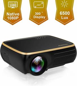 1. HOLLYWTOP M8 Native 1080P Full HD LED Projector
