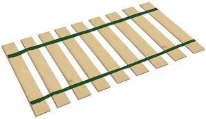 10. The Furniture Cove Queen Size Bed Slats Platform