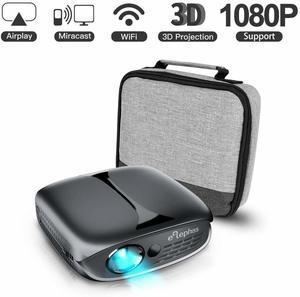 11. ELEPHAS 100 ANSI Lumen Wifi DLP Portable Projector