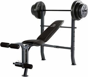 11. Marcy MD-2082W Diamond Elite MD Standard Bench
