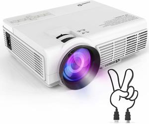 12. VIVIMAGE C3 Portable Projector with 2600 Lux