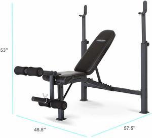 2. Marcy Competitor Adjustable Olympic Weight Bench