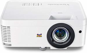 3. ViewSonic 1080p Short Throw Projector with 3000 Lumens