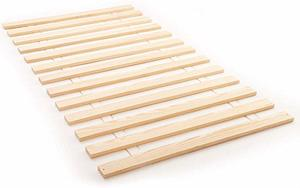 4. Classic Brands 128013-5011 Attached Solid Wood Bed Support Slats