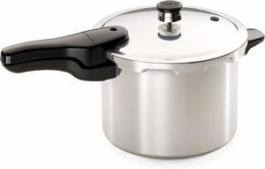 4. Presto 01264 6-Quart Aluminum Pressure Cooker