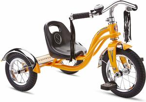 5. Schwinn Roadster Tricycle with Classic Bicycle Bell and Handlebar Tassels