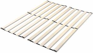 5. Zinus Adrianne Solid Wood Vertical Bed Support Slats