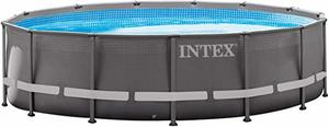 6. Intex 14ft X 42in Ultra Frame Pool Set