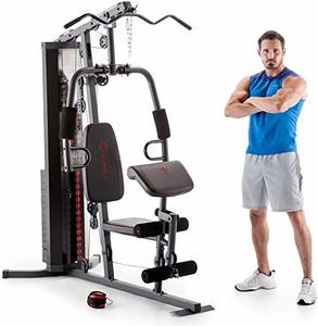 6. Marcy 150-lb Multifunctional Home Gym Station