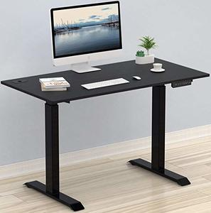 6. SHW Electric Height Adjustable Computer Desk