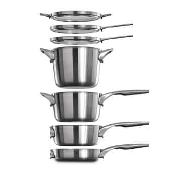 Calphalon Space Saving Stainless Steel