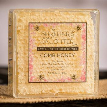 Raw Honeycomb by the Beekeepers Daughter (14 ounces)