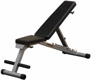 7. Body-Solid Powerline Flat Incline Decline Folding Multi-Bench