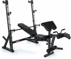7. Marcy Olympic Weight Bench for Full-Body Workout