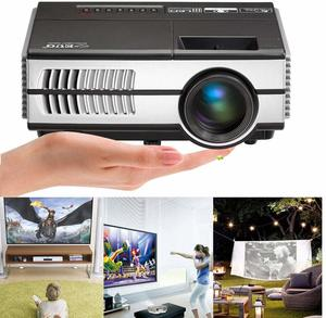7. Portable LCD LED Projector Support HD 1080P