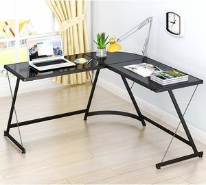 7. SHW L-Shape Corner Desk Computer Gaming Desk Table